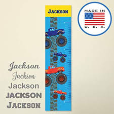 Hanging Growth Chart Amazon Com 321done Personalized Hanging Growth Chart