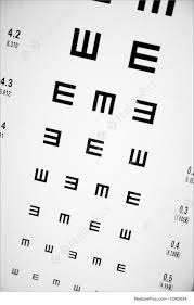 Are All Eye Exam Charts The Same Eye Exam Chart Stock Image I1562624 At Featurepics