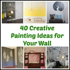 40 Creative Painting Ideas For Your Wall Cool Wall Painting Ideas Gorgeous Wall Painting Living Room Creative
