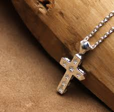 japan amp amp japan star cross necklace 14ao 136 ampjapan amp silver jewelry necklaces silver