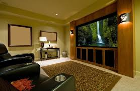 custom home theater. Fine Home In Custom Home Theater A