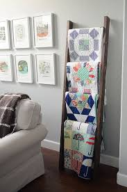 Best 25+ Quilt ladder ideas on Pinterest | Blanket holder, DIY ... & How to Decorate With Vintage Ladders - Quilt rack, this is a neat way to  display your quilts or afghans. Amazing solution for the ones with a lot of  ... Adamdwight.com
