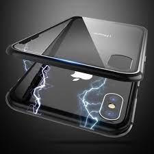 Ultra Magnetischer Telefonkasten Für Iphone X 7 8 9 H Gehärtetes Glas  Abdeckung Für Iphone X 8 7 Plus Case Shell Capinha Zubehör Von Xunhe, 5,21  €