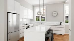 white modern kitchen. Astounding Download Modern White Kitchen Buybrinkhomes Com
