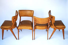 retro dining chairs for sale. super cool retro dining chairs by ben with tan vinyl upholstery. perfect for a vintage or inspired room kitchen. the c\u2026 sale r