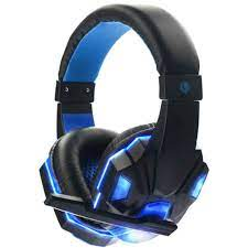 Acekool oyun kulaklığı 3.5mm kulaklık oyun Stereo oyun kulaklığı mikrofon  ile bilgisayar için LED r27 Headphone/Headset