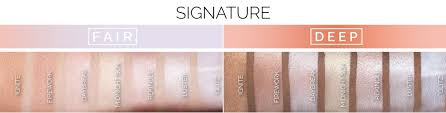 available in seven signature shades and six duochrome shades that can be applied to both the face and body talc free free paraben free