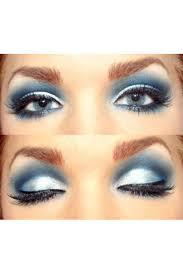 ice blue eyeshadow