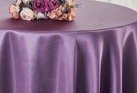 90 round satin table overlay wisteria 55573 1pc pk