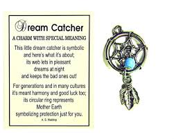 Meaning Behind Dream Catchers Dream Catcher Charm With Story Card 22