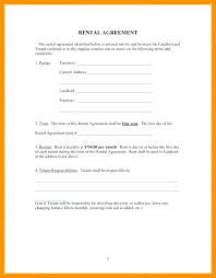 Roommate Rental Agreement Template Room Lease Form Sample Singapore ...