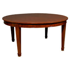 dining room interior design for vintage mahogany dining table 64 round at 1stdibs in