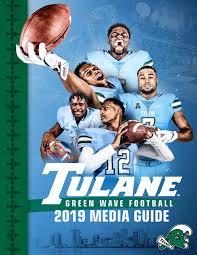 2019 Tulane Football Media Guide By Tulanegreenwave Issuu
