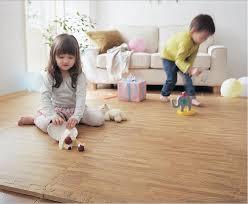 10pcs 30 x 30cm eva foam floor mat wood like cushion pieced carpet faux wood grain