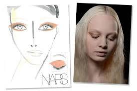 James Face Chart Backstage Beauty Blueprints For Fall 2013 Beauty Blitz
