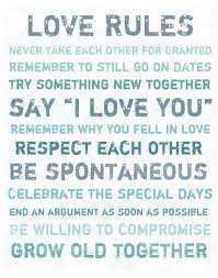 Love Rules Quote Canvas Art <3 | Quotes | Pinterest via Relatably.com
