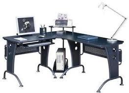 black office table. Black Office Corner Desk Table T
