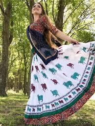 Gopi Dress Design Kunja Surabhi Gopi Skirt Set With Pockets Gopi Skirts In