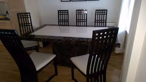 harveys dining room table chairs. harveys marble dining table and 6 chairs, coffee sideboard room chairs r