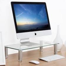 tv stand transparent. computer monitor riser save space storage desktop tv stand entertainment center tv transparent
