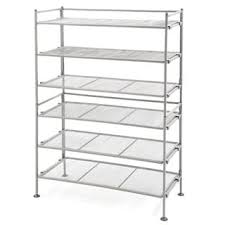 Home Basics 10 Tier Coated Non Woven Shoe Rack Home Basics FreeStanding Non Woven 100Tier Shoe Rack Free 46