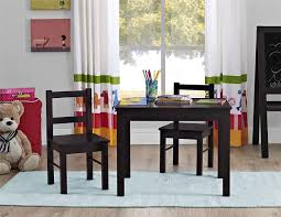 amazon ameriwood home hazel kid s table and chairs set espresso kitchen dining
