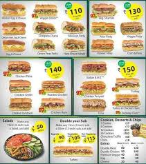 subway menu prices. Unique Subway Image For Subway Near Me Menu And Prices Intended A