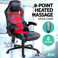 massage desk chair inspiring 8 point massage office chair racing executive heat recliner massaging desk chair