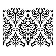 Stencil Designs Buy Online Venetian Damask Damask Stencil Stencils Stencil Patterns