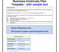 Checklist Templates Beauteous Business Continuity Plan Template Photos Inspirations Free Download