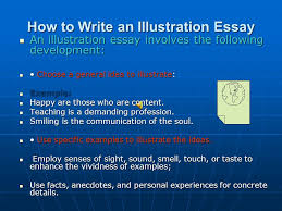illustration essay a dream could be the first step of a fruitful what is an illustration essay