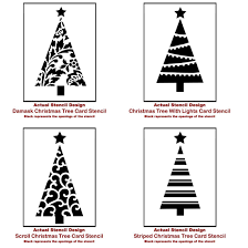 christmas card stencils how to make rustic christmas wall art using stencils stencil