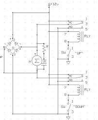how to reverse the polarity of a dc motor using a dpdt relay hen door relays jpg motorrelay jpg