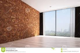 Interior Design Background Pictures The Empty Living Room Interior Design And Red Brick Wall
