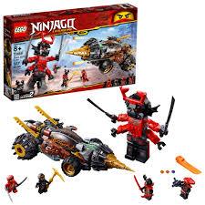 Lego Ninjago Cole's Earth Driller 70669   Ninjago lego sets, Ninjago, Lego  ninjago