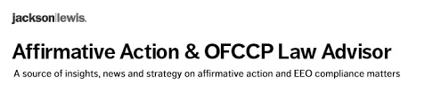 New Ofccp Initiative To Ensure Contractors Timely Prepare And Update ...