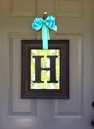 home hanging framed monogram wall art pictures fonts letter vintage board pieces wood fitted mat metal