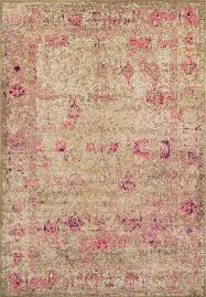 dalyn area rugs antiquity aq1 ivory pink
