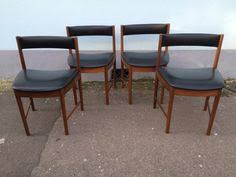 items similar to sold set of four mcintosh dining chairs