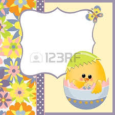 Easter Greeting Card Template Awesome Cute Template For Easter Greetings Card Royalty Free Cliparts
