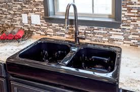large sink black undermount kitchen sink large kitchen sink black cast iron kitchen sink