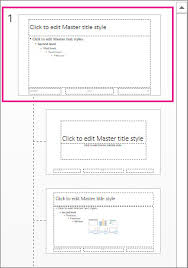 Powerpoint Create Slide Template Create And Save A Powerpoint Template Powerpoint