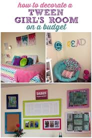 Decorating a Tween Girl's Room on a Budget | Tween, DIY ideas and Budgeting