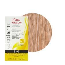wella color charm permament liquid hair color 42ml light beige blonde 8ng 381519047398 ebay