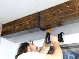 wood beam brackets. Perfect Brackets Faux Wood Ceiling Beam Straps Brackets Steel Beams On Wood Beam Brackets