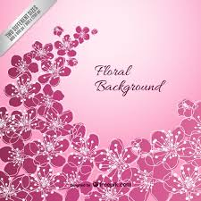 Free Floral Backgrounds Violet Floral Background Vector Free Vector Download In Ai Eps