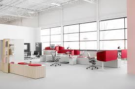 sneak peek google office. Modular-modern-office-design-with-stylish-red-white- Sneak Peek Google Office