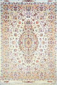 white persian rug silk item pa white persian rug