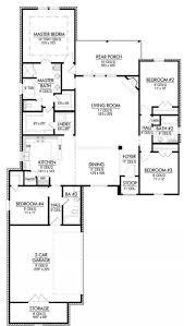 42 Alive Triple Split Floor Plan Ideas Cottage House Stunning Plans