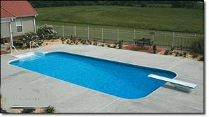 in ground pools rectangle. Inground Steel Pool Kit - Rectangle 4\u0027 Radius In Ground Pools L